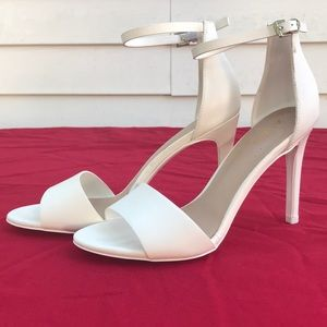 ALDO White Strappy Sandal US Women's Size 7